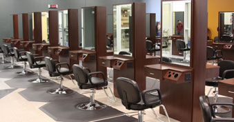 Cosmetology practice spaces
