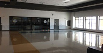Completed cafeteria at SVES