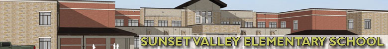 Sunset Valley Elementary project banner