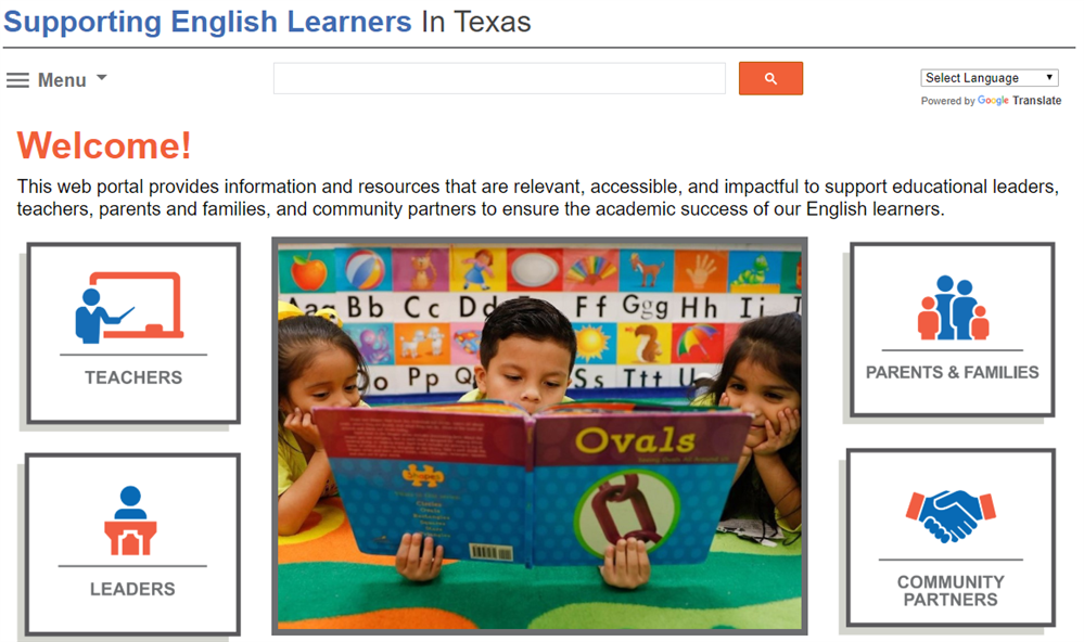 English Learner Portal: Information for Parents, Teachers, School Leaders, and Partners