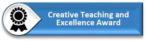 Button: Creative Teaching and Excellence Awards