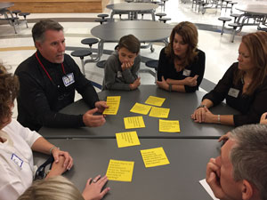 Educational Summit attendees discuss district priorities