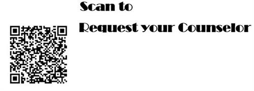 Scan to Request you Counselor