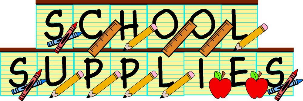School supplies Logo