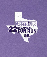 Casey's Kids Fun Run & 5K 3/30/19