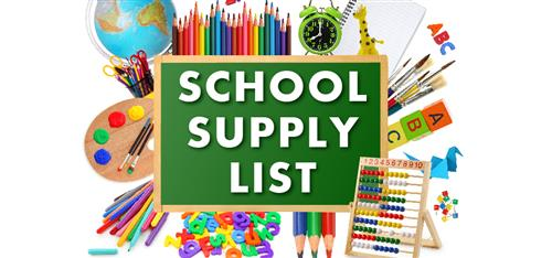 ERES 2018-2019 School Supply List
