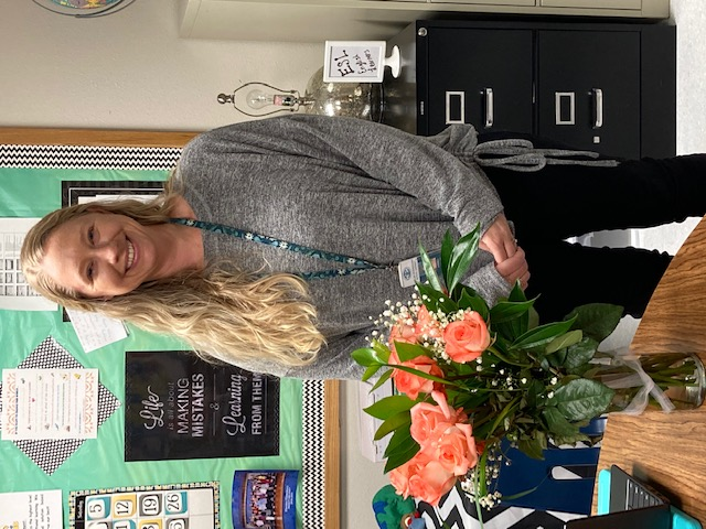 Mrs. Sargent - 2020 - 2021 FES Support Staff of the Year
