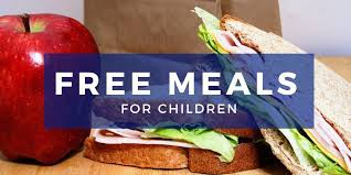 Starting November 1st,  students will receive free breakfast and lunch for the rest of the YEAR!!!!