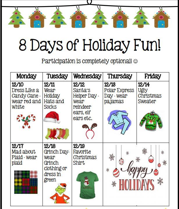 8 Days of Holiday Fun!
