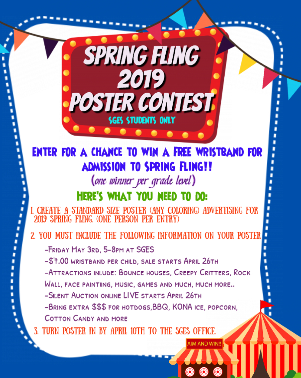 Spring Fling 2019 Poster Contest