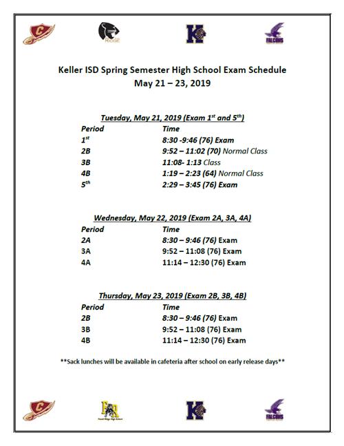 Unt Final Exam Schedule Spring 2019 Content App   Detail Page