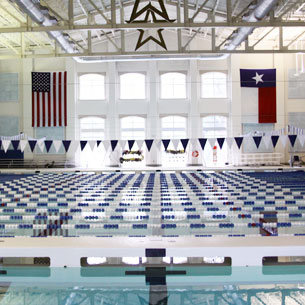 Experience the KISD Natatorium