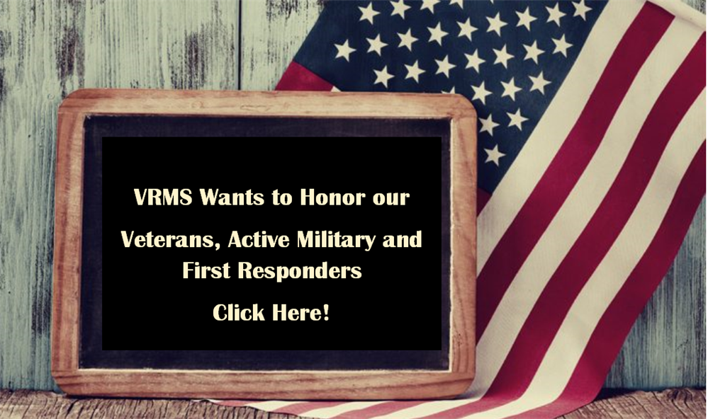 Veterans  Active Military and First Responders