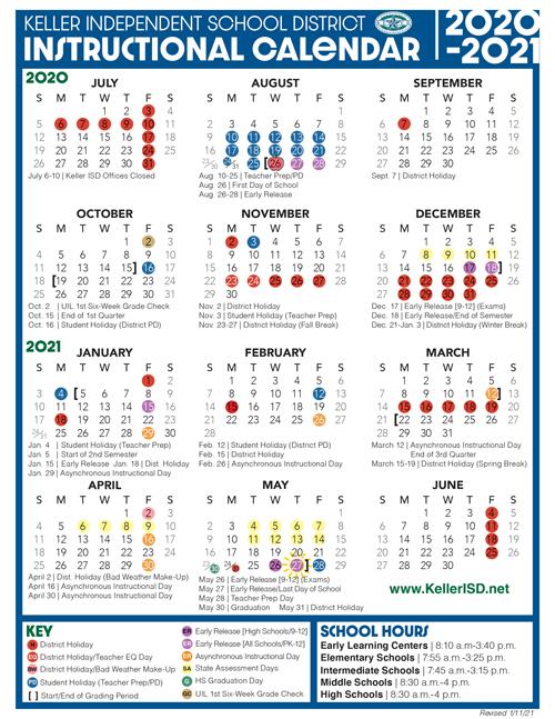 Katyisd Calendar 2022.Five Early Release Days Now Asynchronous Instructional Days