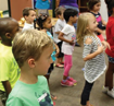 Students participate in Kinder Camp