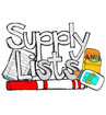 School Supply Lists & School Supply Drive - August 1st
